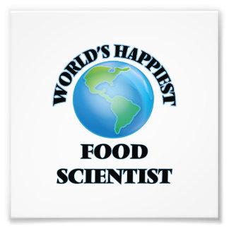 Världs mest lycklig matforskare fototryck