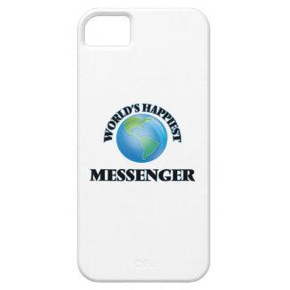 Världs mest lyckliga budbärare iPhone 5 Case-Mate skal
