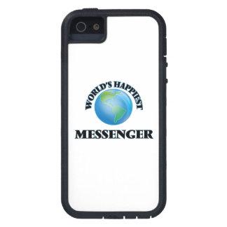 Världs mest lyckliga budbärare iPhone 5 Case-Mate cases