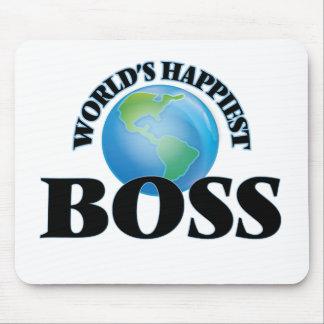 Världs mest lyckliga chef mus mattor