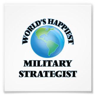 Världs mest lyckliga militära strateg fototryck