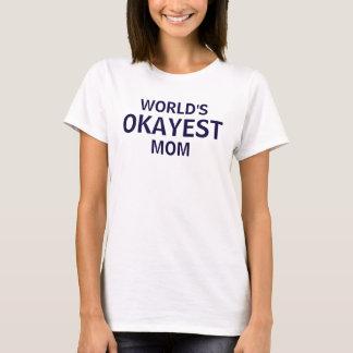Världs skjorta för utslagsplats för mors dag för tee shirts