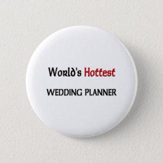 Världs varmmaste bröllopsfixaren standard knapp rund 5.7 cm