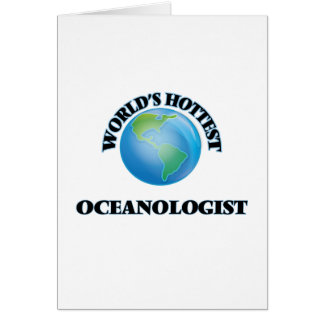 Världs varmmaste Oceanologist Kort