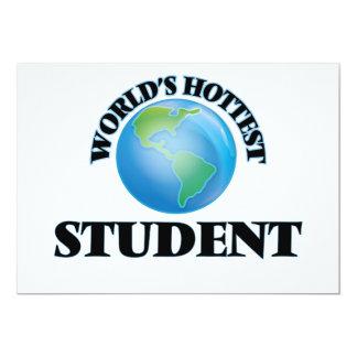 Världs varmmaste student personliga tillkännagivande