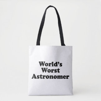 Världs värst astronom tygkasse