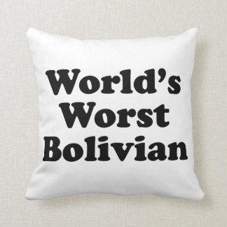 Världs värst bolivianskt kudde