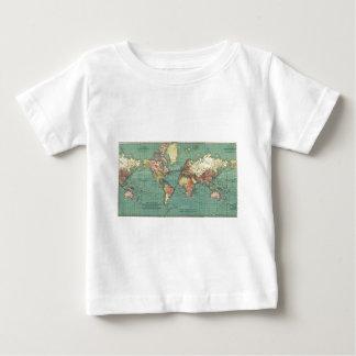 Världskarta 1919 t shirt