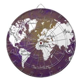 världskarta 2 darttavla