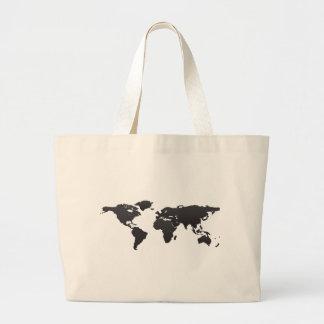 Världskarta Jumbo Tygkasse