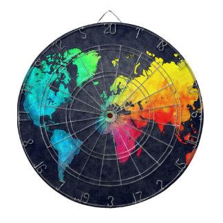 världskarta piltavla