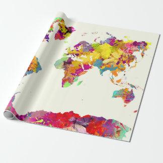 världskartafärger presentpapper
