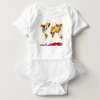 världskartafärger t-shirts