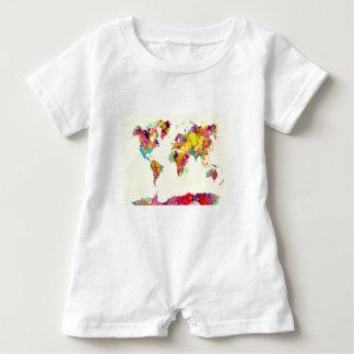 världskartafärger tee shirts
