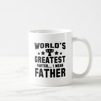 Världsmästare Farter Kaffemugg