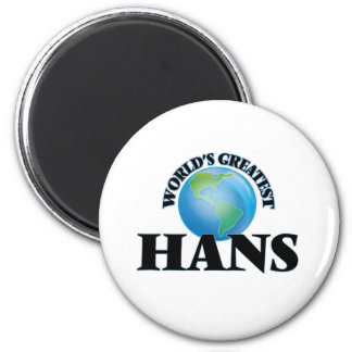 Världsmästare Hans Magnet Rund 5.7 Cm