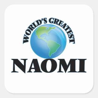 Världsmästare Naomi Klistermärke