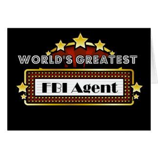 VärldsmästareFBI-agent Hälsningskort