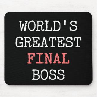 Världsmästarefinalchef Musmatta