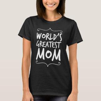 Världsmästaremamma Tee Shirt