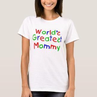 Världsmästaremammor Tshirts