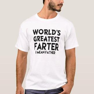 Världsmästaren Farter betyder jag den roliga T-shirts