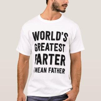 Världsmästaren Farter betyder jag fadern Tee