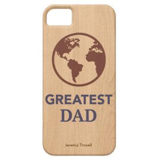 Världsmästarepappaiphone case iPhone 5 hud