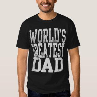 Världsmästarepappan, det stora kvarteret märker tshirts