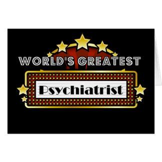 Världsmästarepsykiater Hälsningskort