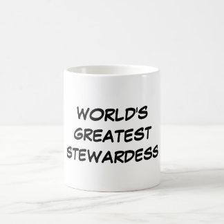 """""""VärldsmästareStewardess"""" mugg"""