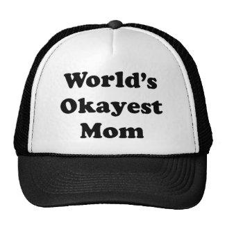VärldsOkayest mamma Keps