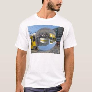 Världsstämpelur, Alex, Berlin, kristallkula T Shirts