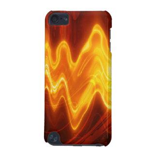 Varm flammande rolig Speckipod fodral iPod Touch 5G Fodral