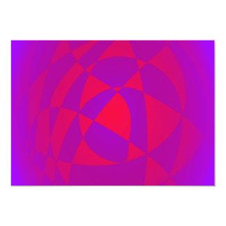 Varm hjärta i en coola förkroppsligar 12,7 x 17,8 cm inbjudningskort