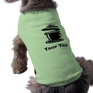 Varm kaffedesign hundtröja