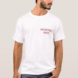 VARM tshirt för KVINNALEKRACQUETBALL Tee