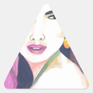 Värma Triangelformat Klistermärke