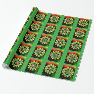 Värme av jul presentpapper