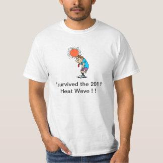 Värmebölja 2011 tee shirts