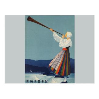 Varmland sverige - vintage resor vykort