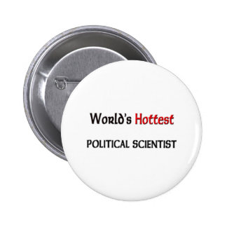 Varmmast politisk forskare för världar nål
