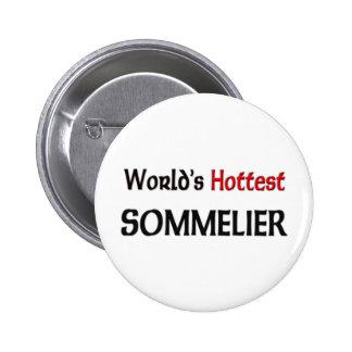 Varmmast Sommelier för världar Standard Knapp Rund 5.7 Cm