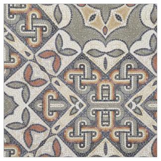 Varmt grå färgguld ID162 för geometriskt mönster Tyg