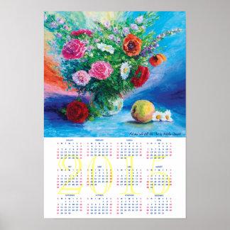 Varmt och kallt stilleben kalender 2015