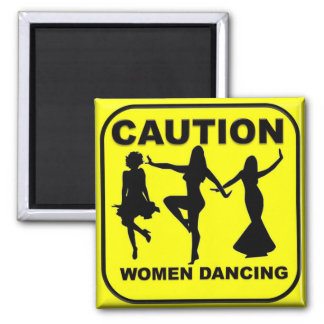 Varna att dansa för kvinnor magnet