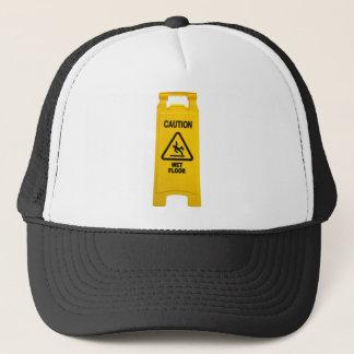 Varna det våta golv truckerkeps