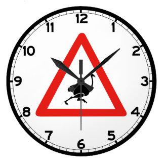 Varna Ostriches 1, trafikera varning undertecknar, Stor Klocka