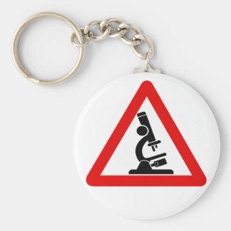 Varna:  VETENSKAP! Rund Nyckelring
