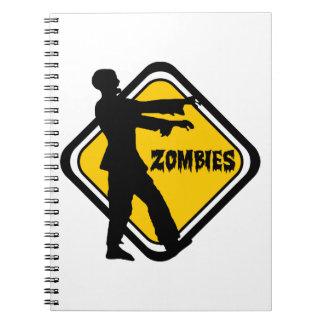 Varna Zombies Anteckningsbok Med Spiral